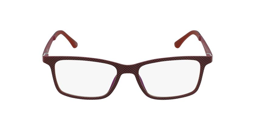 Óculos graduados homem MAGIC 32 RD BLUEBLOCK - BLOQUEIO LUZ AZUL vermelho - Vista de frente