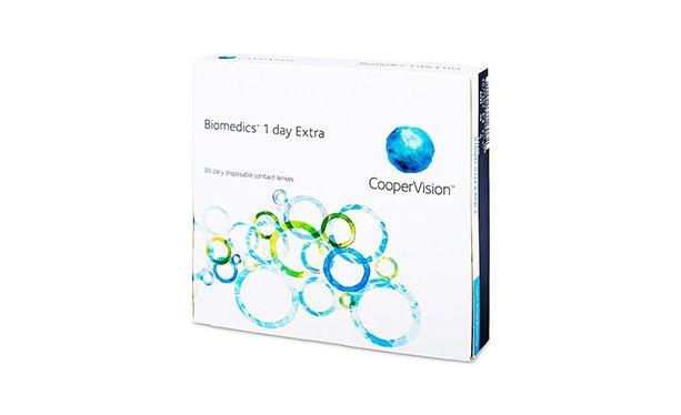 Lentilles de contact Biomedics® 1day 90L - Vue de face