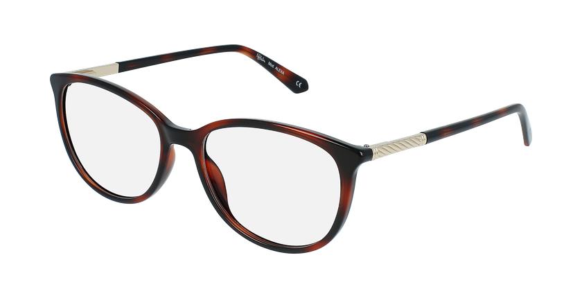 Óculos graduados senhora ALEXA TO (TCHIN-TCHIN +1€) tartaruga  - vue de 3/4