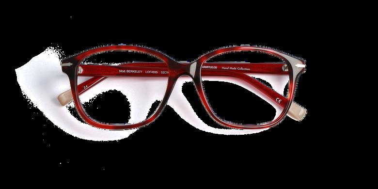 Gafas graduadas mujer BERKELEY rojo