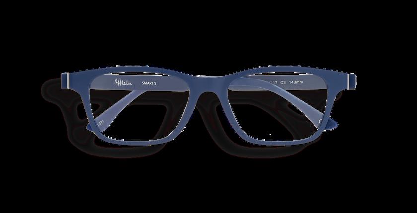 5f3a039b99129 ... Óculos graduados homem SMART TONIC 02 azul - Vista de frente ...