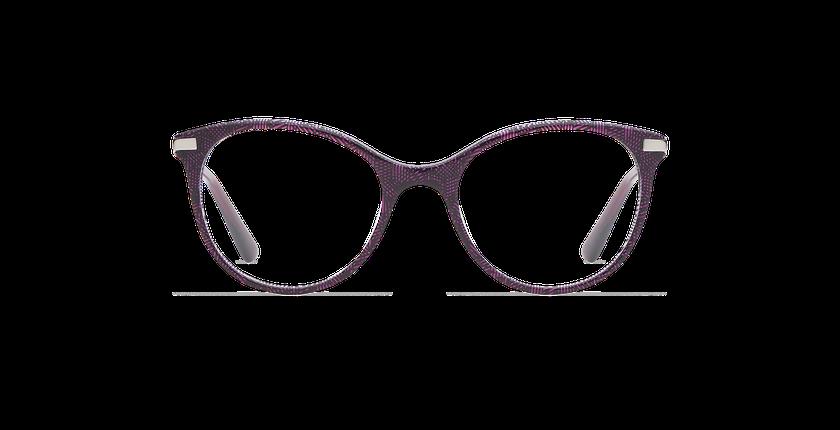 Lunettes de vue enfant ALINE violet - Vue de face