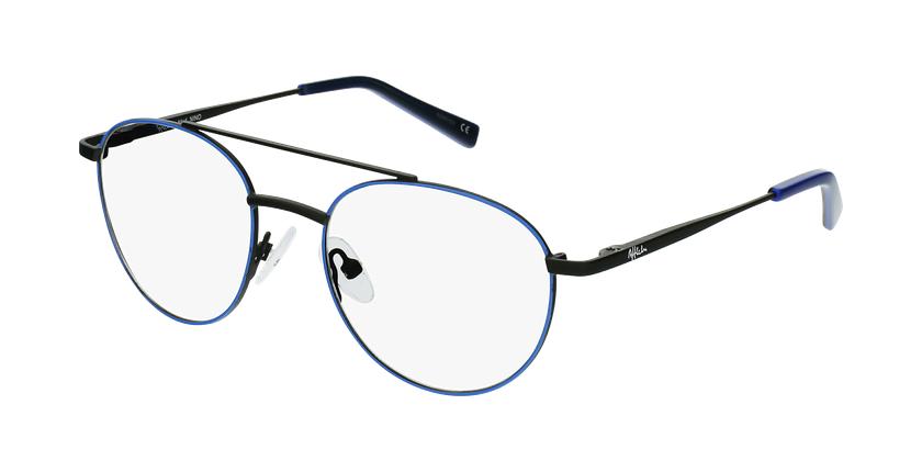 Óculos graduados criança NINO BLBK (TCHIN-TCHIN +1€) azul/preto - vue de 3/4