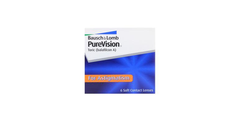 Lentilles de contact PureVision Toric 6L
