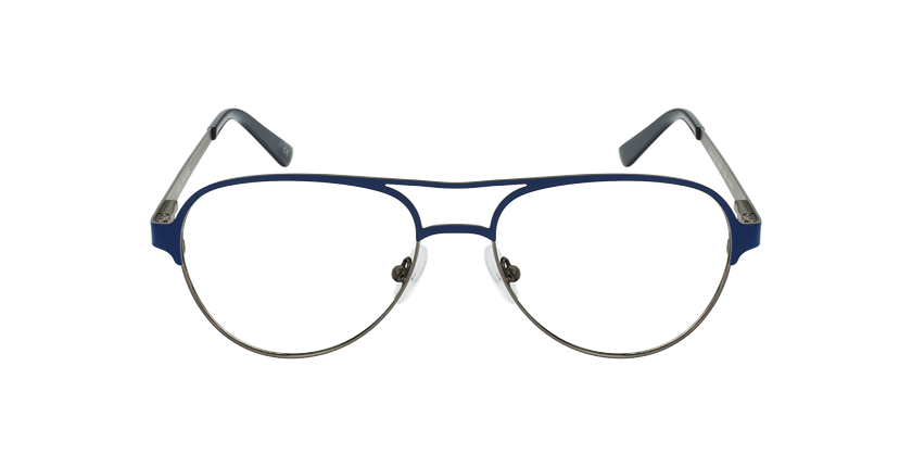 Óculos graduados NAEL BL (TCHIN-TCHIN +1€) azul/prateado - Vista de frente