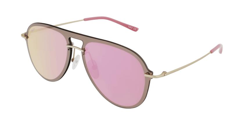 Óculos de sol WAIMEA GD dourado/rosa - vue de 3/4