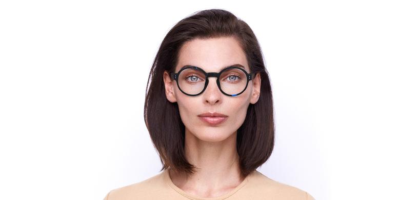 Óculos graduados EMMY BL (TCHIN-TCHIN +1€) tartaruga/azul