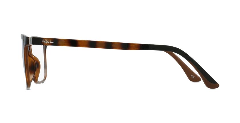Óculos graduados senhora MAGIC 60 BLUEBLOCK - BLOQUEIO LUZ AZUL tartaruga  - Vista lateral