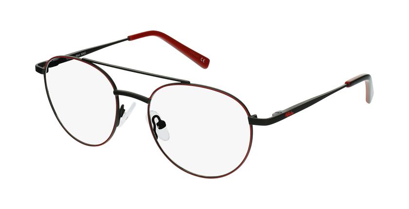 Óculos graduados criança NINO RDBK (TCHIN-TCHIN +1€) vermelho/preto - vue de 3/4