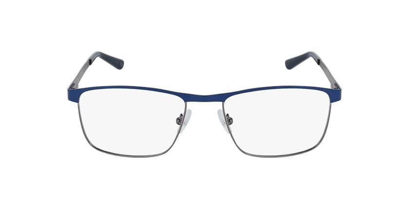 Óculos graduados homem Guido bl (Tchin-Tchin +1€) azul/prateado - Vista de frente