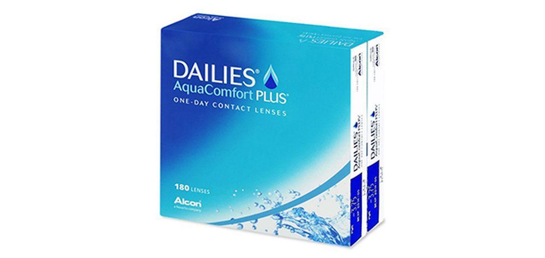 Lentes de contacto Dailies AquaComfort Plus 180L