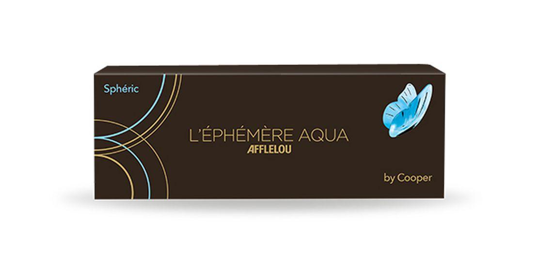Lentes de contacto Éphémère Aqua Esférica - Diária 30 unid