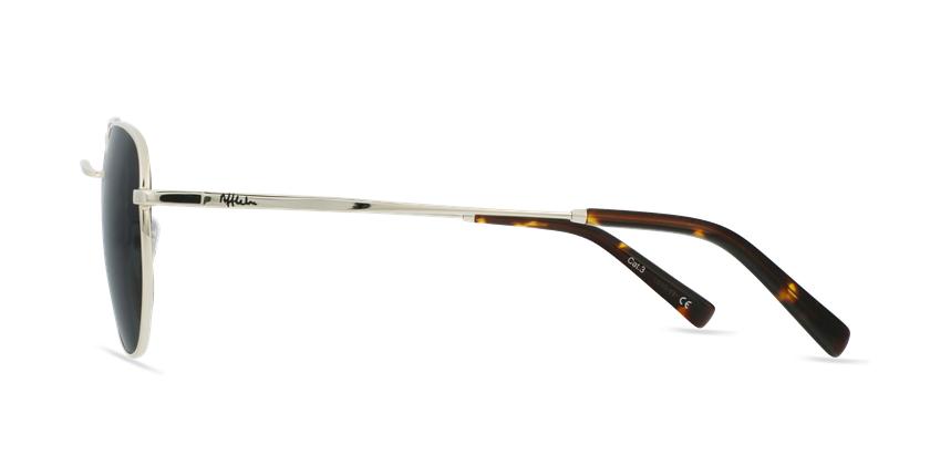 Óculos de sol STAN GD dourado - Vista lateral
