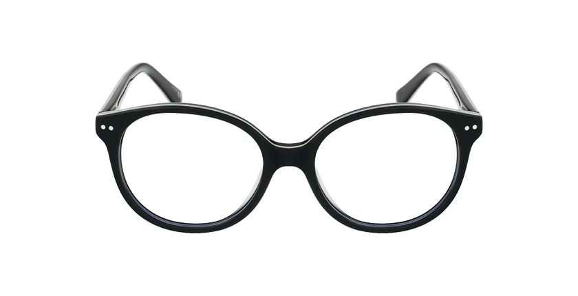 Óculos graduados criança SAMANTHA GR (TCHIN-TCHIN +1€) verde/preto - Vista de frente