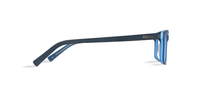 Óculos graduados homem LEON BL (TCHIN-TCHIN +1€) azul - Vista lateral