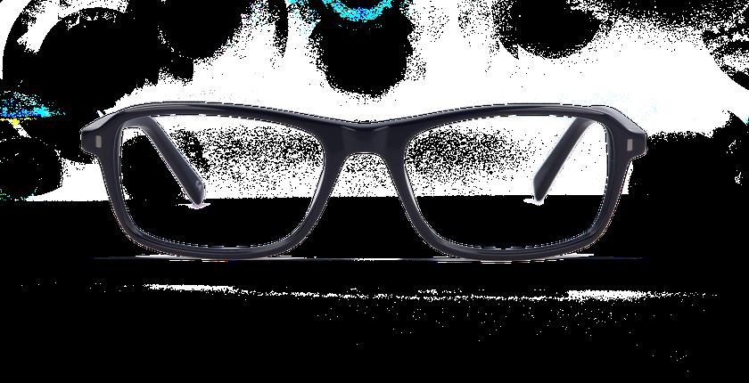 Lunettes de vue homme BRICKLANE bleu - vue de face