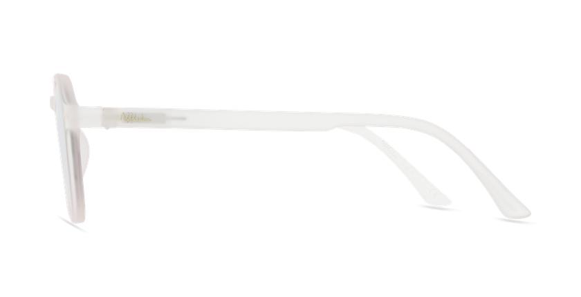 Óculos de sol criança PAZ PK rosa - Vista lateral