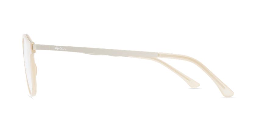 Óculos graduados senhora MAGIC 97 BGGD bege/dourado - Vista lateral
