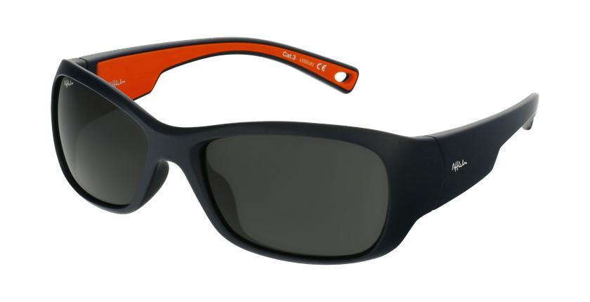 Óculos de sol criança THIAGO POLARIZED BL azul/laranja - vue de 3/4