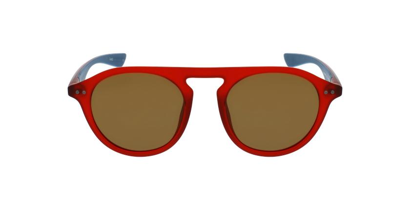 Óculos de sol BORNEO POLARIZED RDBL vermelho/azul - Vista de frente