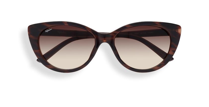 Gafas de sol mujer OLARIA carey - Vista de frente