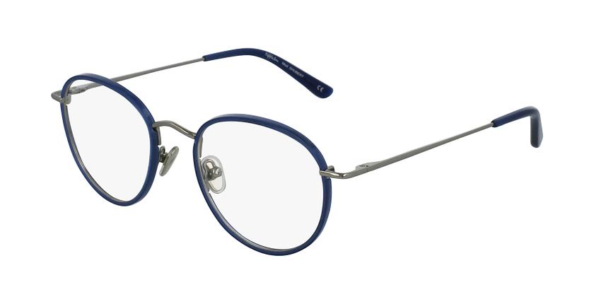 Óculos graduados SHUBERT BL prateado/azul - vue de 3/4