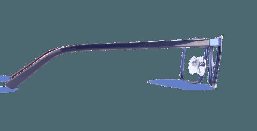 Lunettes de vue homme CHARLES bleu - Vue de côté