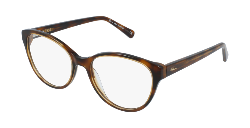 Óculos graduados senhora OAF20521 TO (TCHIN-TCHIN +1€) tartaruga  - vue de 3/4