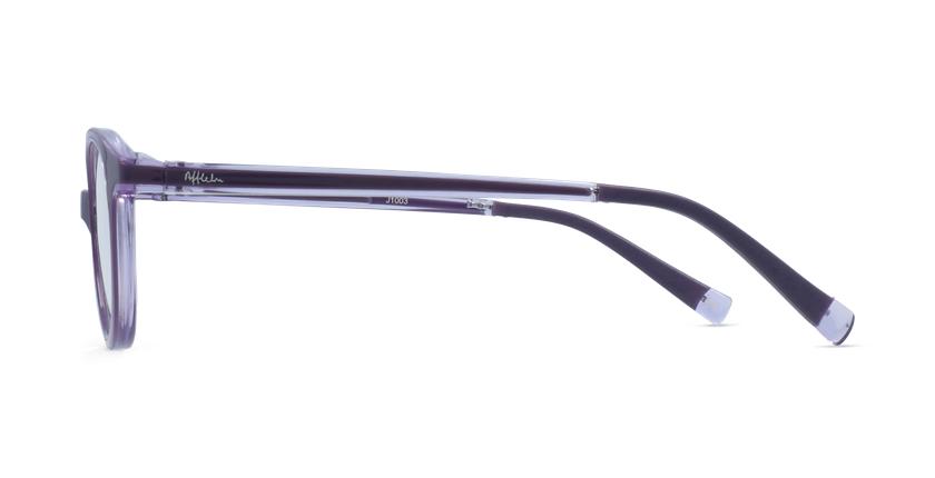 Óculos graduados criança RFOP2 PU REFORM violeta - Vista lateral