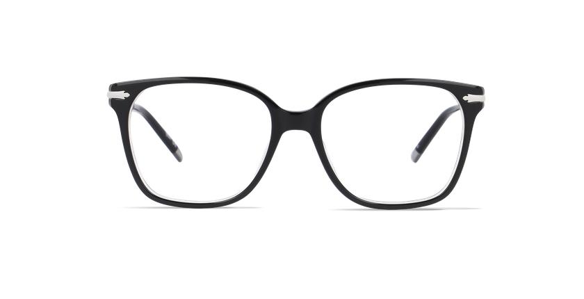 Lunettes de vue femme CLIFDEN noir - Vue de face