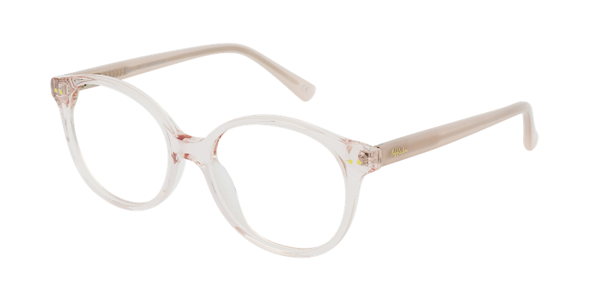 Óculos graduados criança SAMANTHA PK (TCHIN-TCHIN +1€) rosa - vue de 3/4
