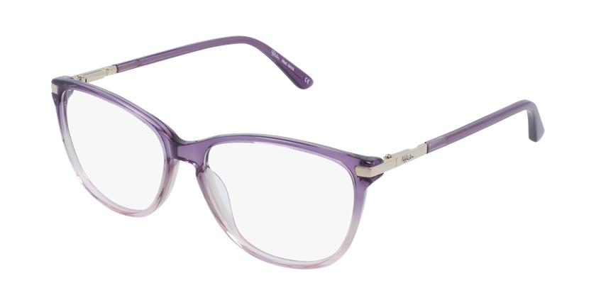 Lunettes de vue femme OAF20520 violet - vue de 3/4