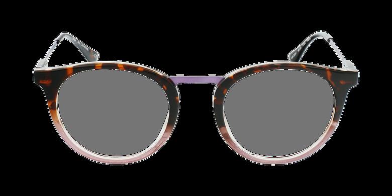 Lunettes de vue CATHERINE violet/écaille