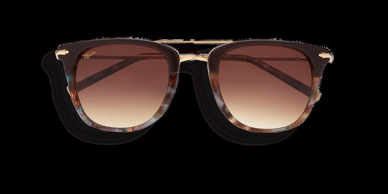 Óculos de sol homem MACKAY castanho