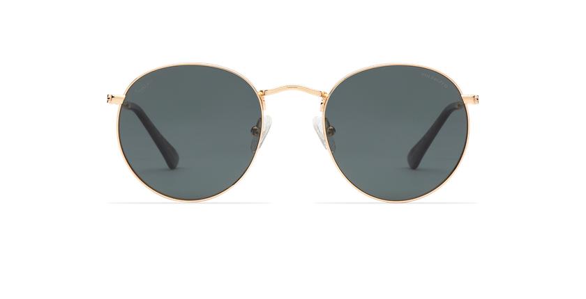 Óculos de sol MAURI GD POLARIZED dourado - Vista de frente