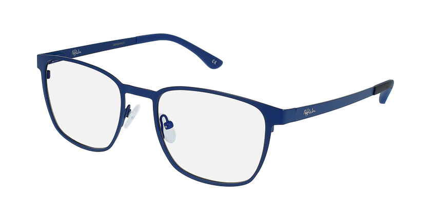 Óculos graduados homem MAGIC 42 BLUEBLOCK - BLOQUEIO LUZ AZUL azul - vue de 3/4