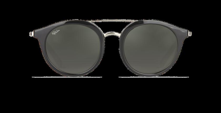 Gafas de sol mujer ITABATA negro/plateado - vista de frente