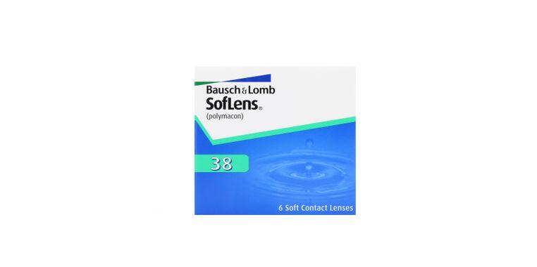 Lentilles de contact SofLens 38 6L