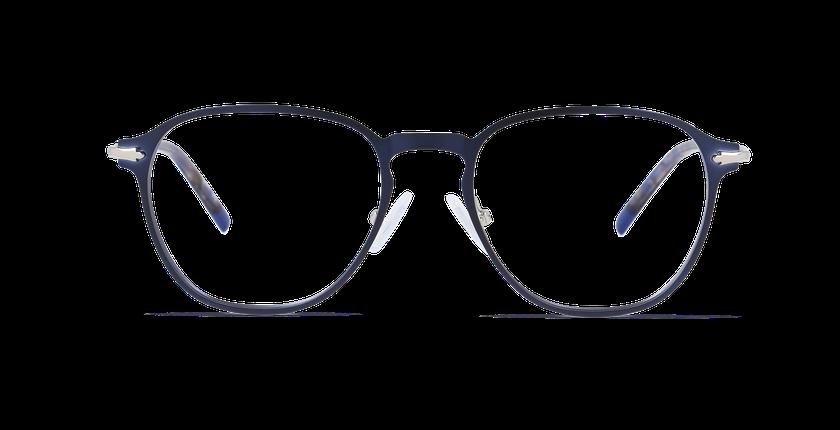 Gafas graduadas hombre GALWAY azul - vista de frente