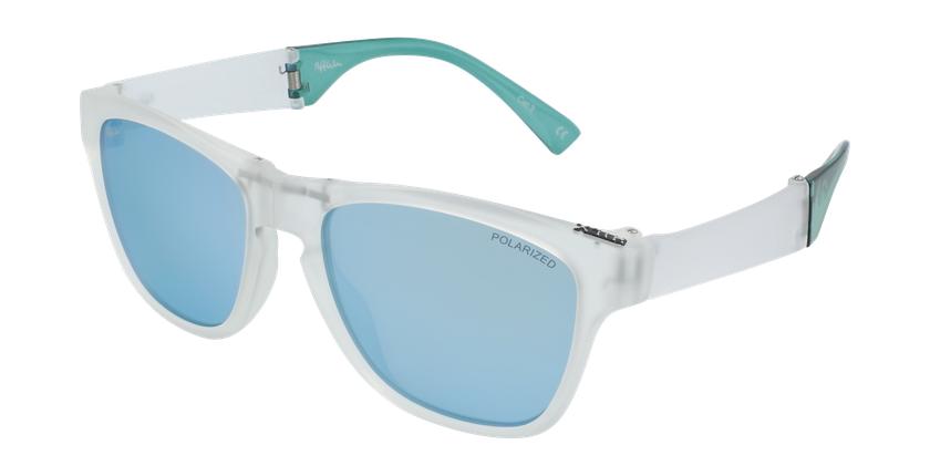 Óculos de sol homem GEANT CR azul - vue de 3/4