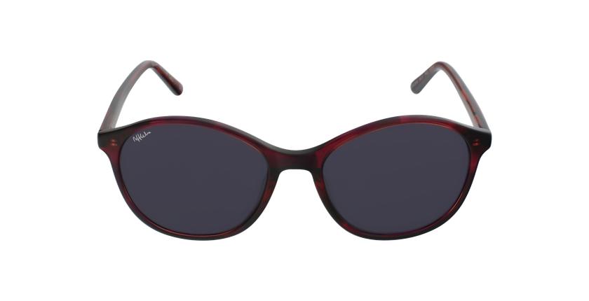 Óculos de sol senhora COLINE PK tartaruga /rosa - Vista de frente