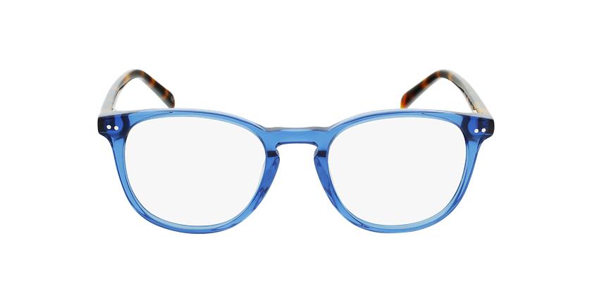 Lunettes de vue homme VIGGO bleu/écaille - Vue de face