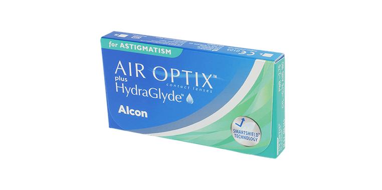 Lentilles de contact Air Optix Plus Hydraglyde For Astigmatism 6L