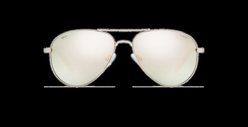 Gafas de sol AZCA POLARIZED dorado - vista de frente