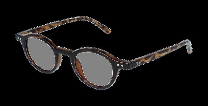 Óculos graduados senhora ALIDA TO (TCHIN-TCHIN +1€) tartaruga  - Vista de frente