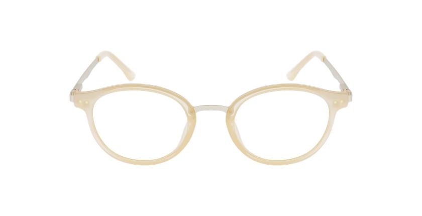 Óculos graduados senhora MAGIC 97 BGGD bege/dourado - Vista de frente