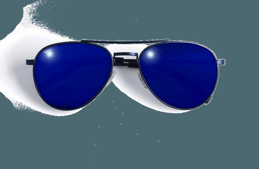 Gafas de sol CHAYO azul - vue de face