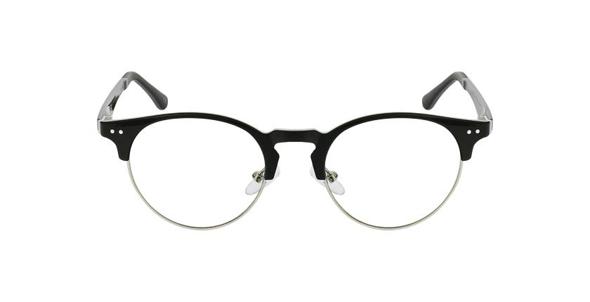 Óculos graduados MAGIC 93 BK ECO FRIENDLY preto/prateado - Vista de frente