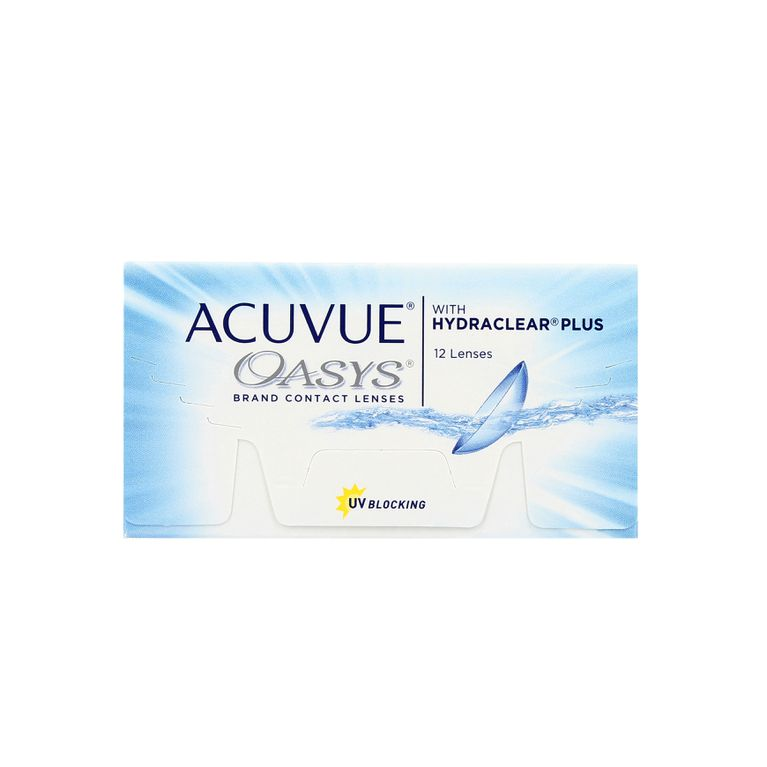 Lentilles de contact Acuvue® Oasys® with Hydraclear® Plus 12L