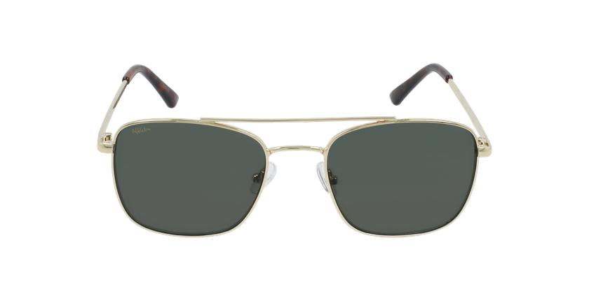 Óculos de sol SAND GD01 dourado - Vista de frente